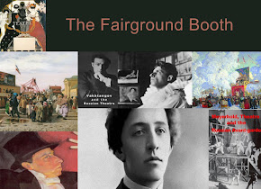 The Fairground Booth -Film project -Sign up for regular updates