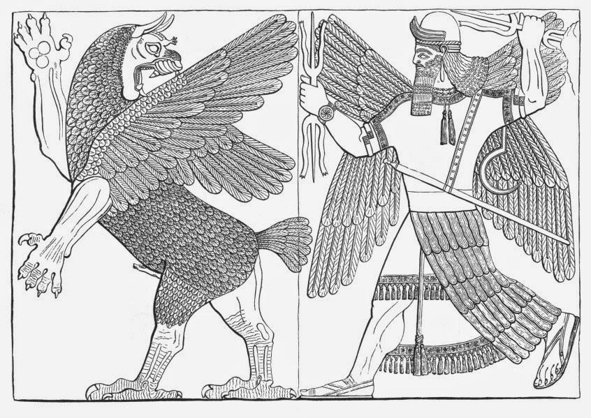 Luta de Marduk com Tiamat