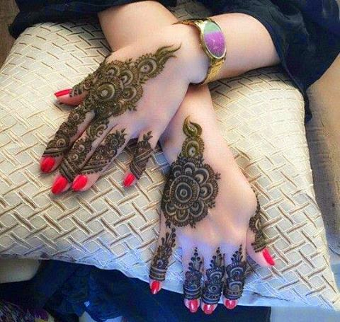 Mehndi design 2015 bridal