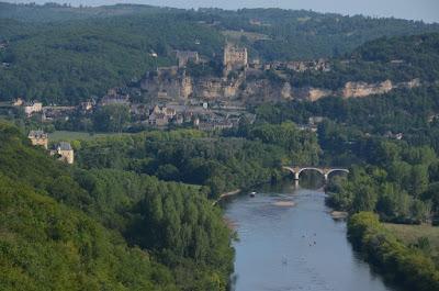 Castell de Beynac des de Castelnaud-la-Chapelle
