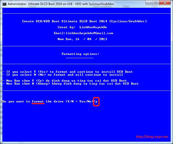 Langkah Mudah Membuat DLCD Boot 2014 v2.1 di USB Drive