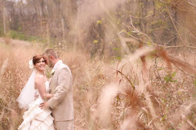 bride groom outdoors