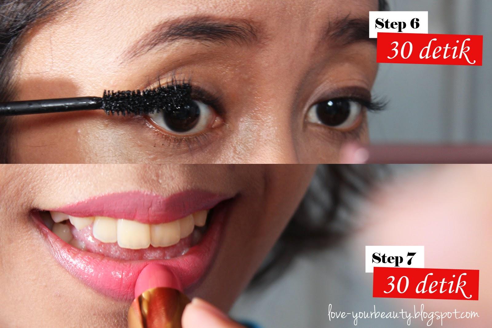 Tips makeup dengan mudah