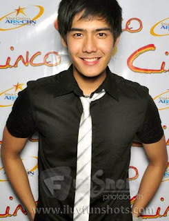 Robi Domingo on Black Suit