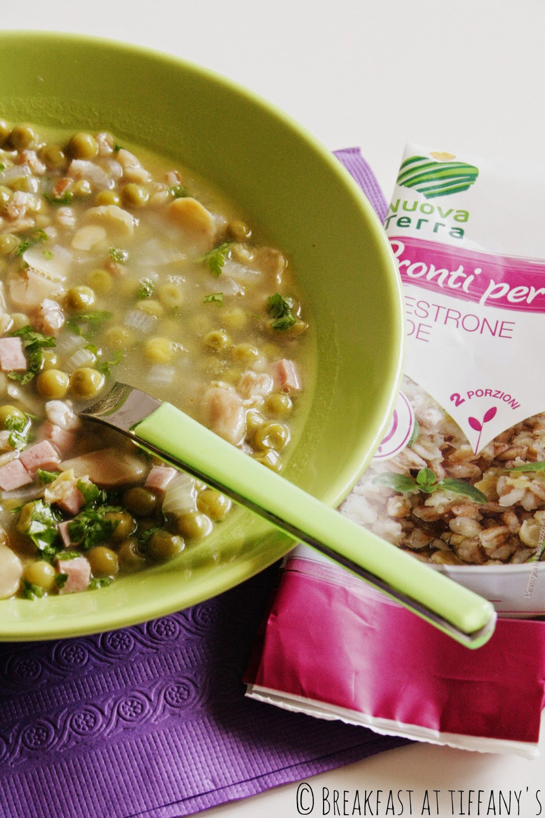 zuppa salutare con nuova terra / healthy soup recipe with terra nuova