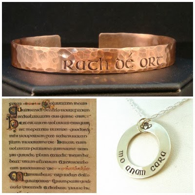Irish Personalized Jewelry