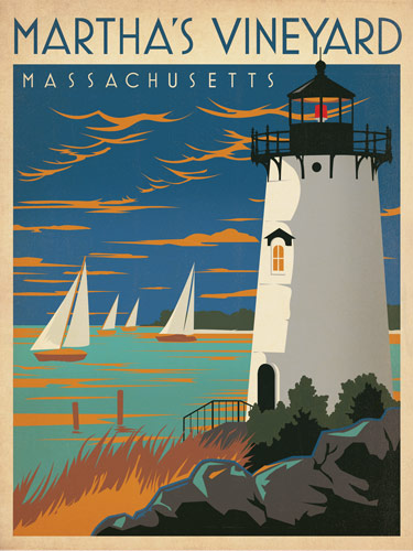 Flyer goodness classic american travel posters by the for Best american classics