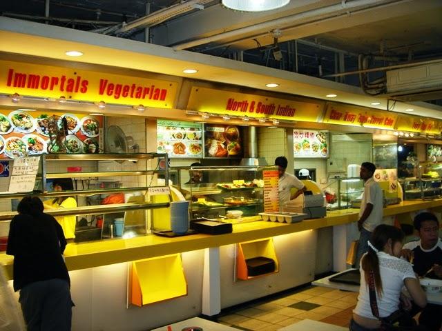 Asian Food Court di Singapore
