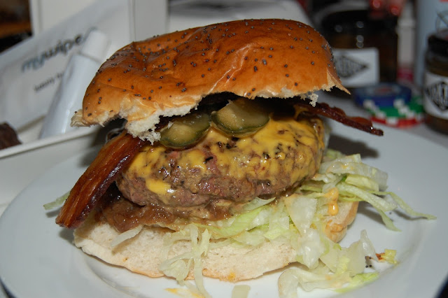 The London Burger from Two Nights Only