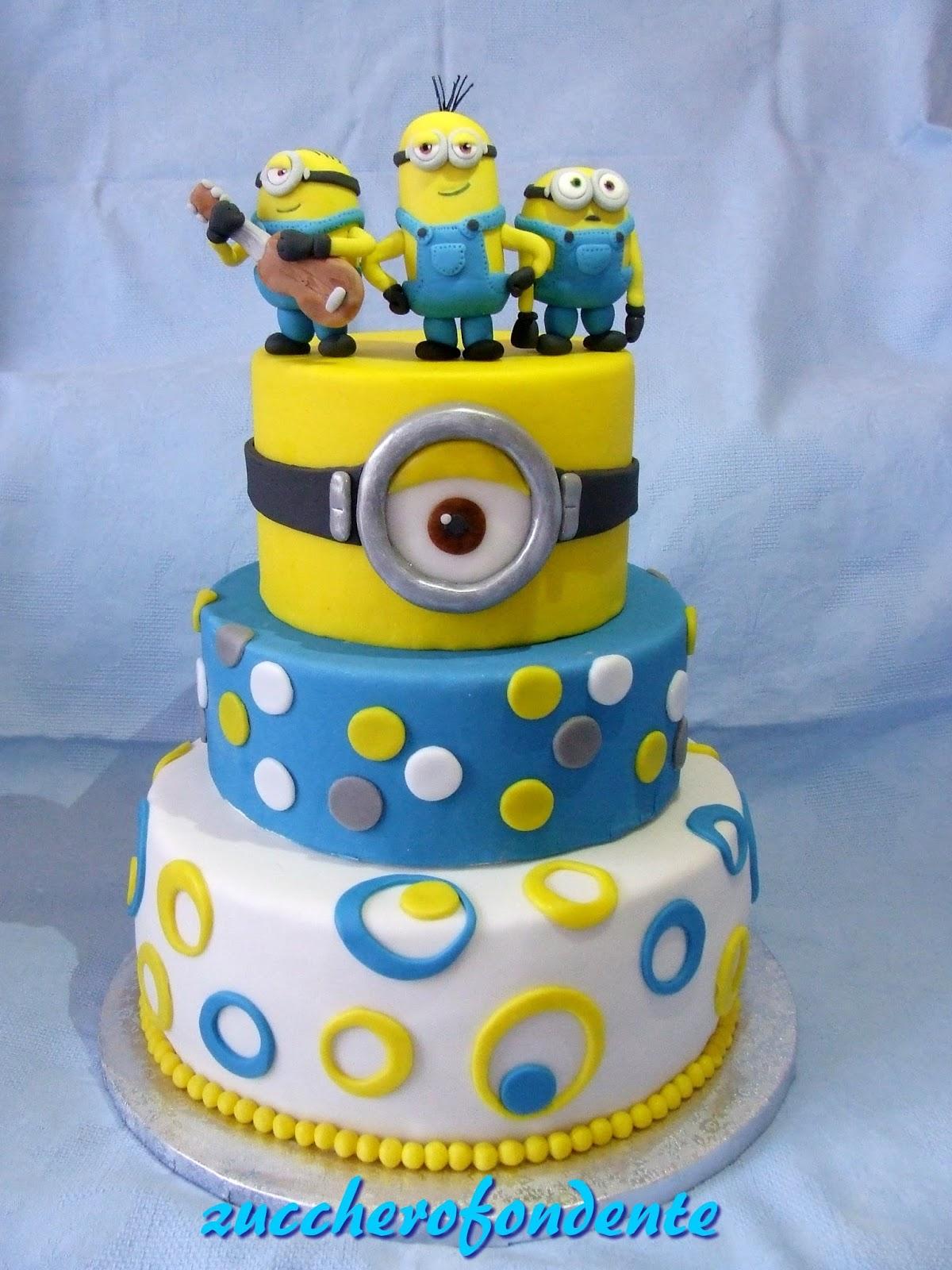 Torte per compleanno minions