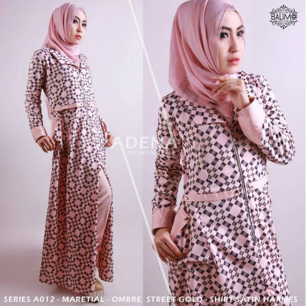 Contoh%2BModel%2BBaju%2BMuslim%2BWanita%2BDewasa%2BEdisi%2BTerkini%2B2015 style fashion baju muslim wanita dewasa edisi terkini 2016,Model Baju Wanita Jadul
