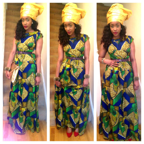 African Nigerian Dresses Styles