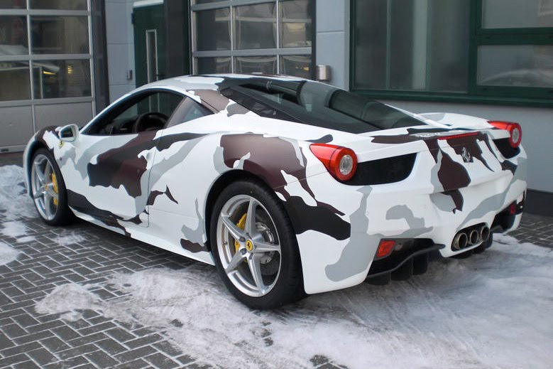 Ferrari 458 Italia Camouflage ~ Sports amp; Modified Cars