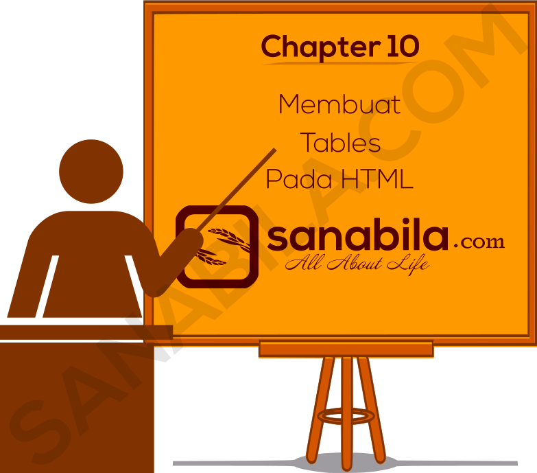 Chapter 10. Cara Membuat Tables di HTML