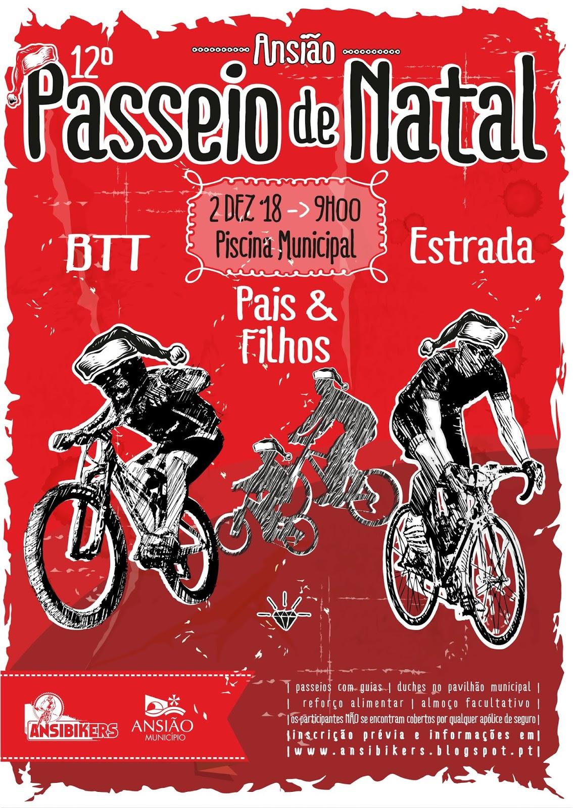 12º Passeio BTT/Ciclismo de Natal