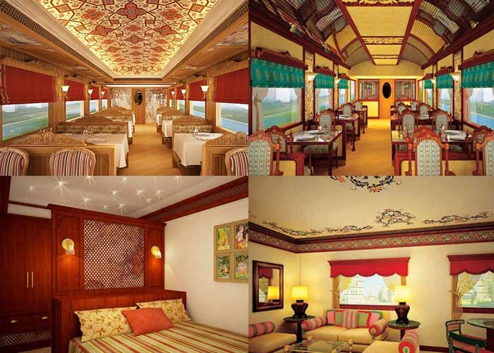 Maharaja express a train journey drenched in luxury