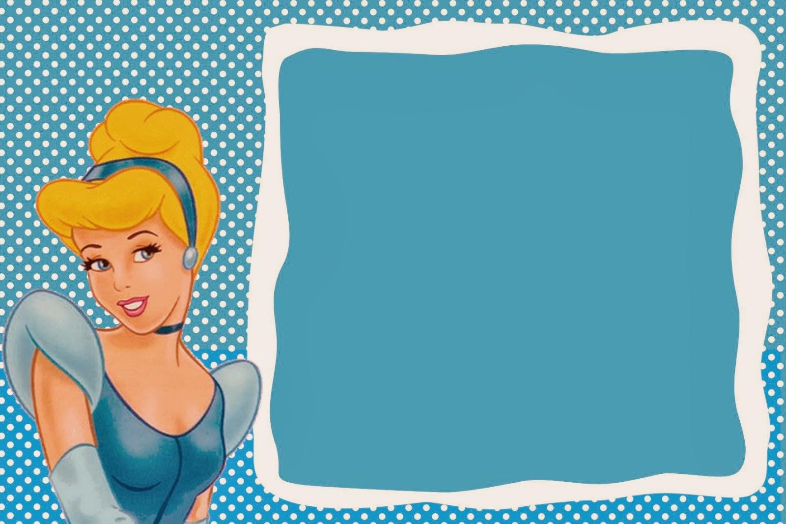 Cinderella Free Printable Invitations