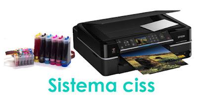 Sistema continuo de tinta (CISS)