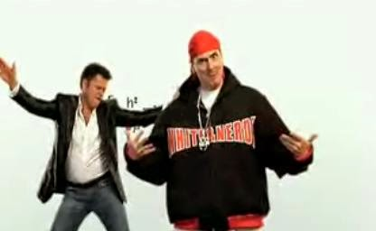 Weird al with donnie osmond in quot white and nerdy quot source youtube