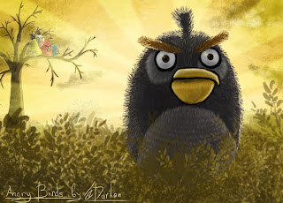 Angry Birds Wallpaper PowerPoint Background-4