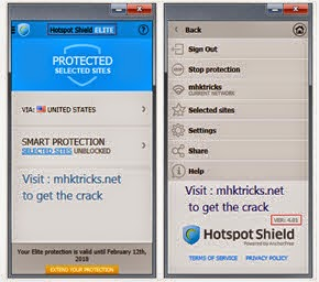 Hotspot Shield 4.01 Elite Full Crack screenshoot 2