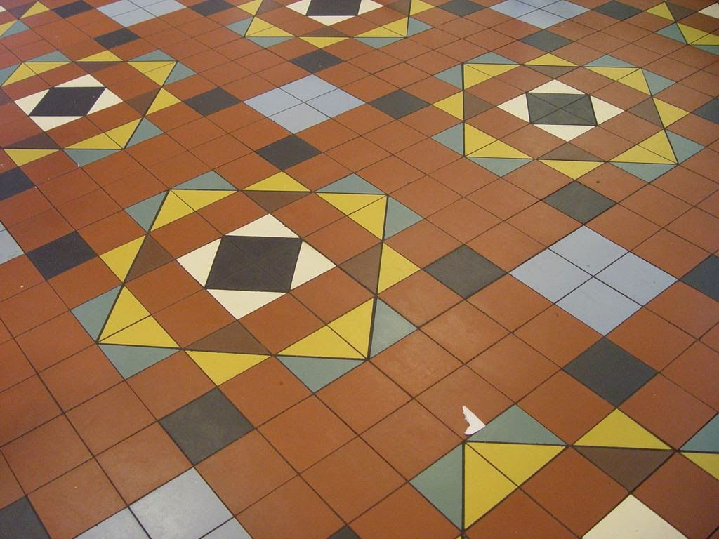 Floor Pattern Ceramics
