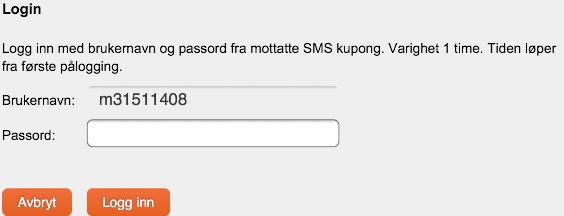 personlig passord sparebank 1