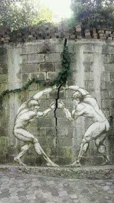Fisuras en el muro