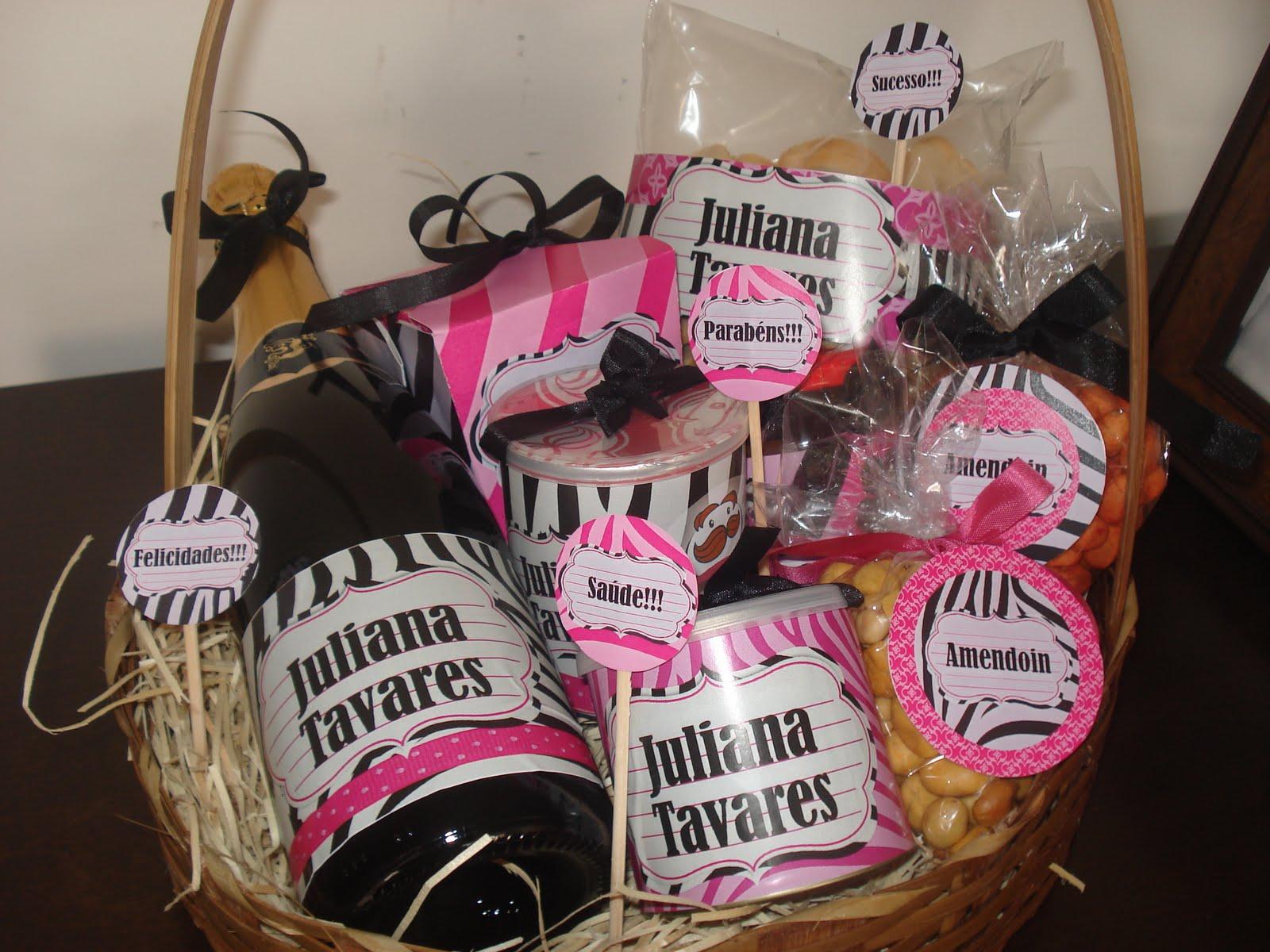 Dona flor festa mayanara andrade cestas personalizadas - Cestas de playa personalizadas ...