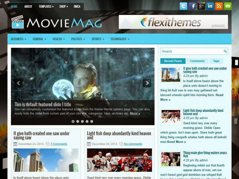 MovieMag - Free Wordpress Theme