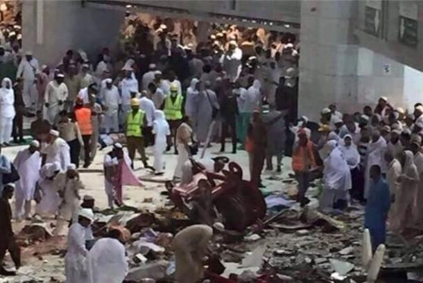 Penyebab Crane Jatuh Versi Saksi Mata di Mekkah