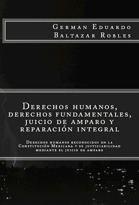 Derechos Humanos, derechos fundamentales, juicio de amparo y reparación integral