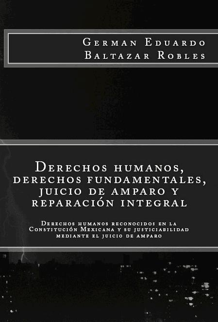 Derechos Humanos, derechos fundamentales, juicio de amparo y reparación integral