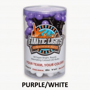 Fanatic Lights - Purple/White