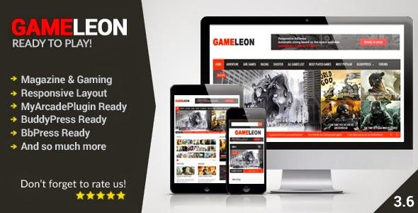 Gameleon WordPress Magazine & Arcade