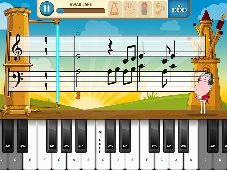 Piano Mania - Practice Game - Learn To Read Sheet Music, Practice Rhythm And Technique On Your Piano Or Keyboard! App iTunes App By JoyTunes - FreeApps.ws