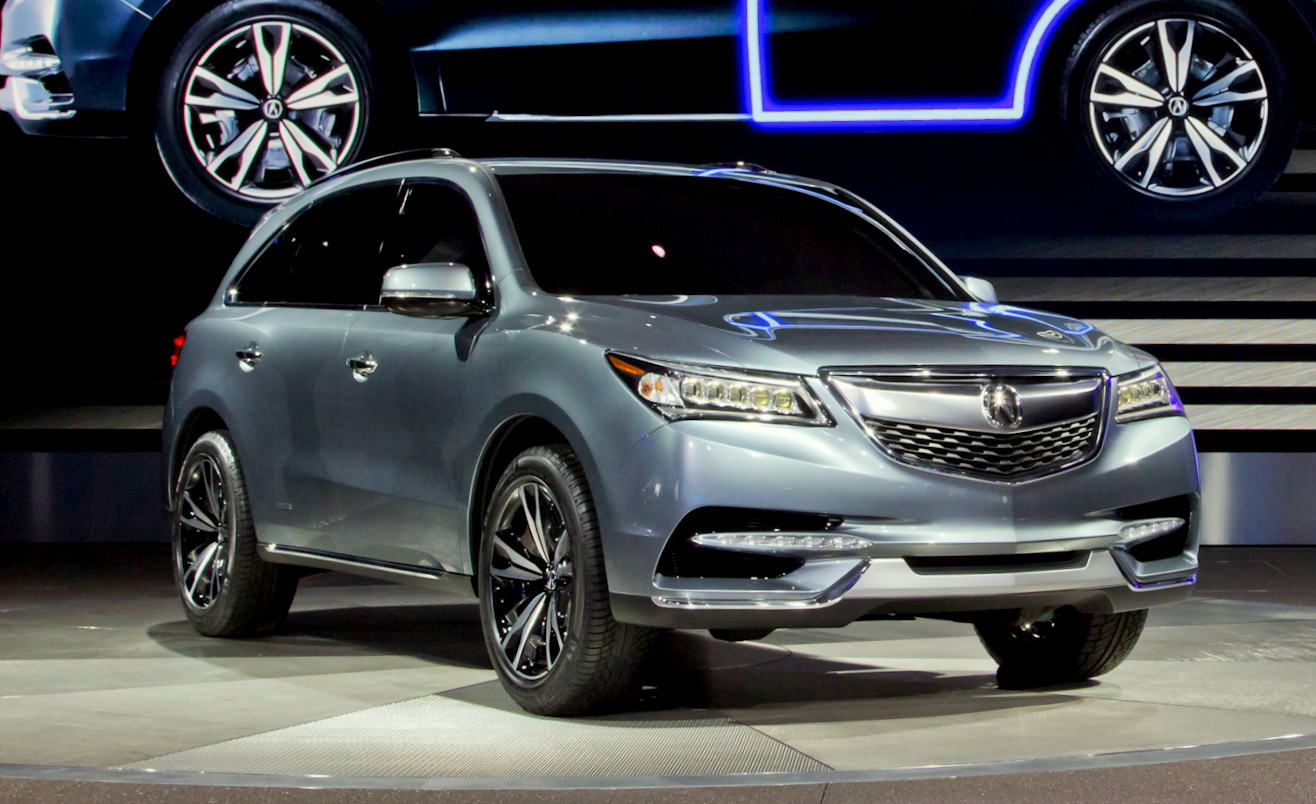 2014 acura mdx prototype preview