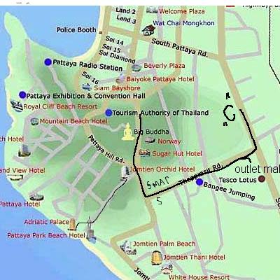 рыболовный магазин в паттайе на карте