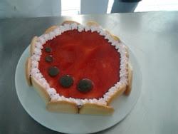 semifrio de fresa