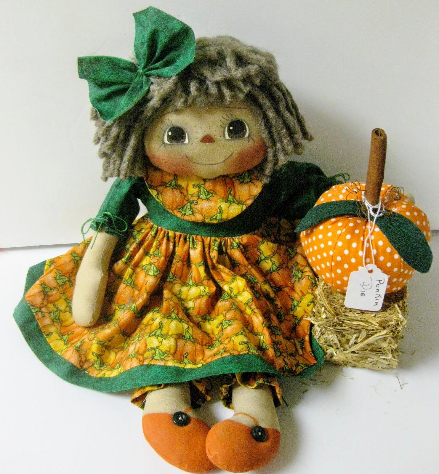 Pumpkin Raggedy