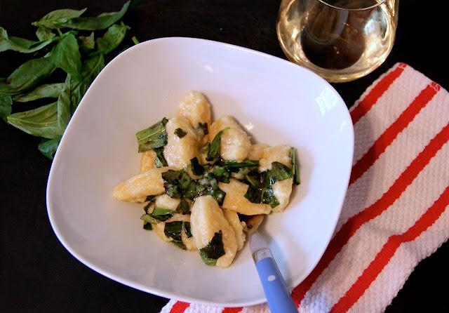 Mascarpone and Lemon Zest Gnocchi