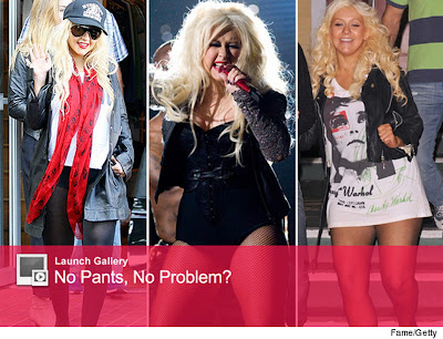 The Reason of Christina Aguilera Disliking Pants