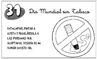 Día mundial sin tabaco 31 de mayo