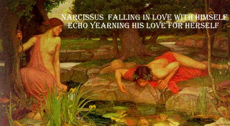 echo and narcissus summary Publisher's summary the myth of echo and narcissus appears in ovid's metamorphosis, a latin mythological epic from the augustan age it is one of the most touching stories ever written and has inspired countless works of art through the centuries.