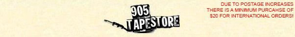 905 TAPES :: store (updated: 8/23/13)