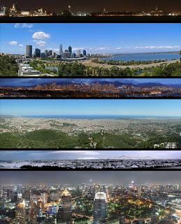 Панорамные виды городов