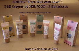 "Sorteo ""From Asia with Love"" en Cosmética en Acción"