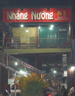 Phố nhắng nướng - Đại Cồ Việt