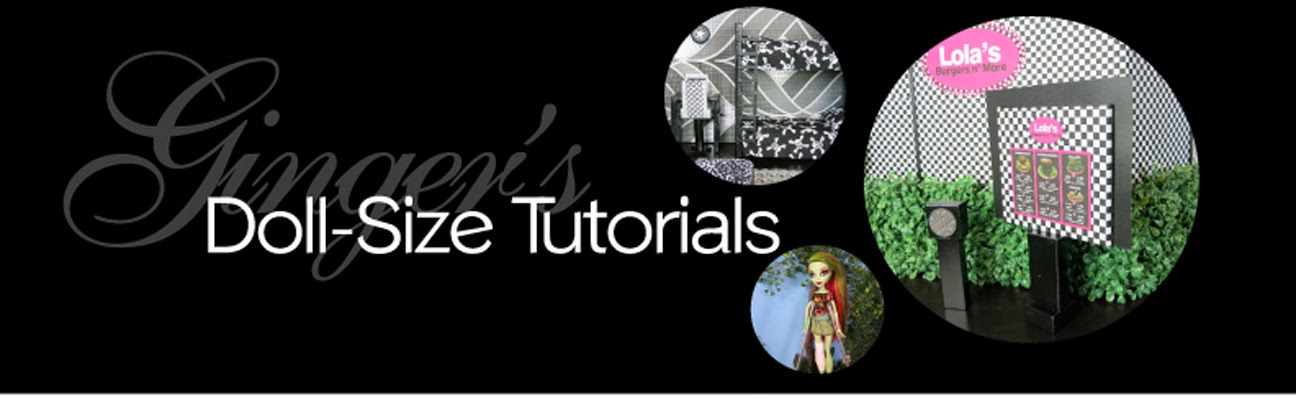 Ginger's Doll-Size Tutorials