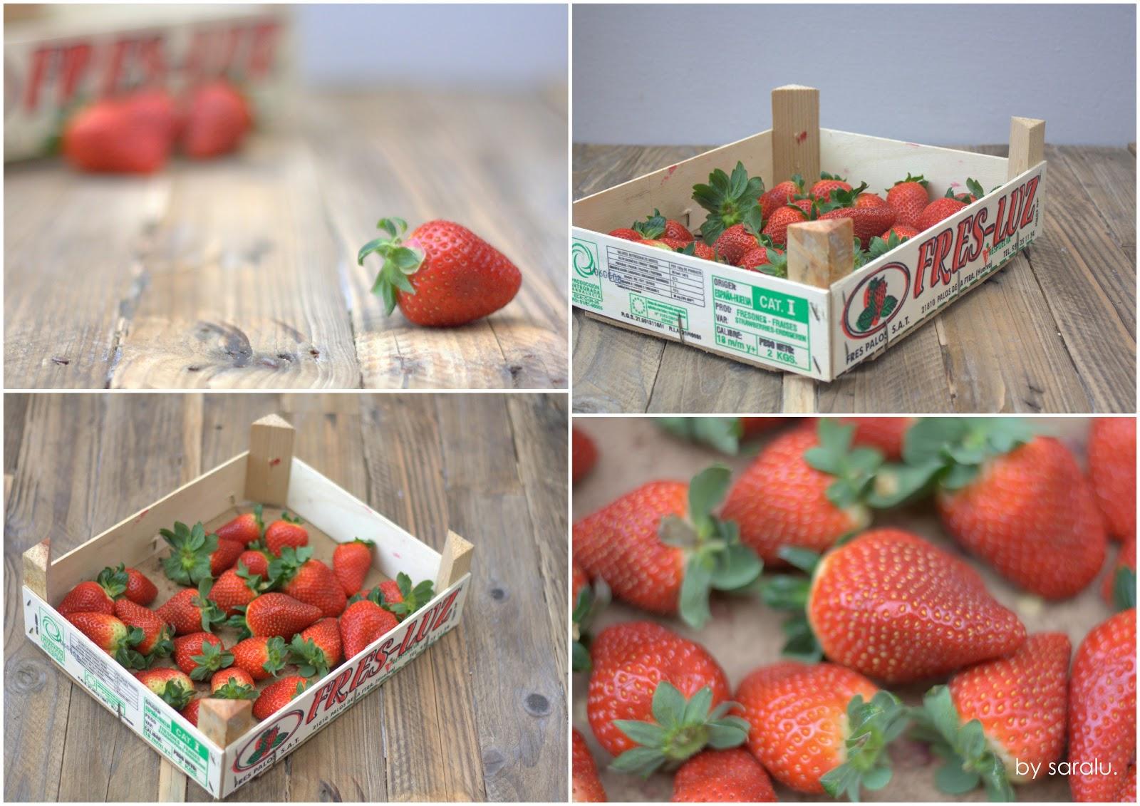 Caja de fresas reciclada el nido de mam gallina - Fresas para madera ...